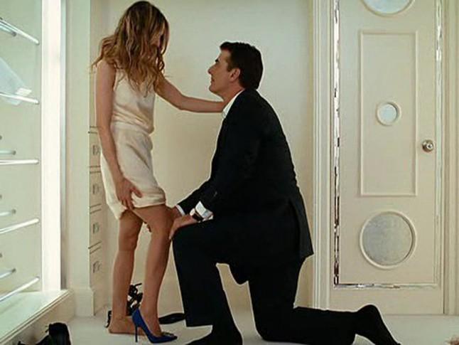 Szex ésNew york esküvői cipő