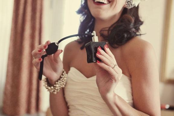 parfümválasztás menyasszonyoknak