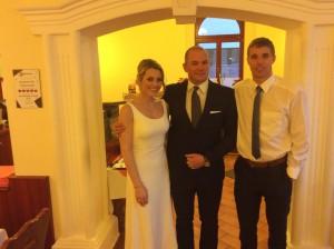 Balázs és Natashia esküvője a januári tavaszban