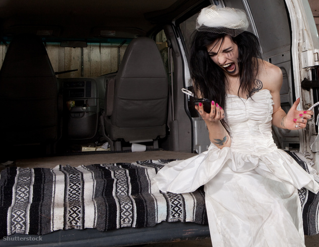 hisztis menyasszony